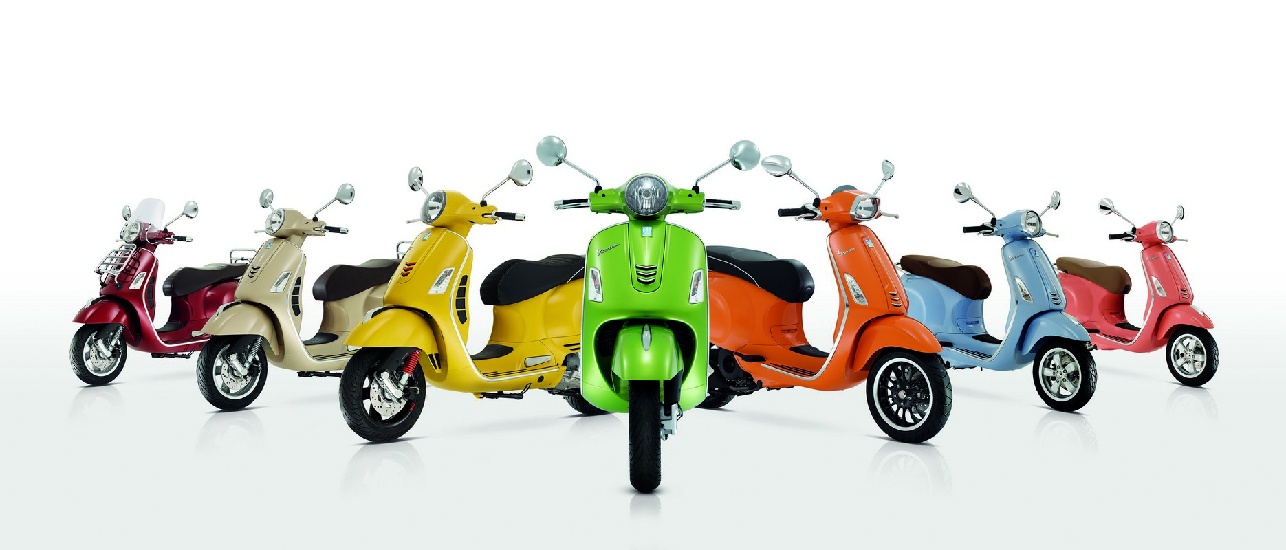 VESPA New Colors